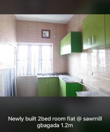 2 bedroom Blocks of Flats House for rent Sawmill  Gbagada Lagos