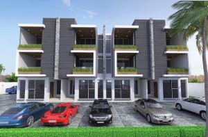 4 bedroom Terraced Duplex House for sale Alma Beach Estate by Mercedes Ikate Lekki Lagos Ikate Lekki Lagos