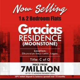 2 bedroom Blocks of Flats House for sale  OKUNRAYE TOWN, IBEJU LEKKI LAGOS Okunraiye Ibeju-Lekki Lagos