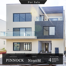 4 bedroom Detached Duplex House for sale Pinnock Beach Estate Osapa london Lekki Lagos