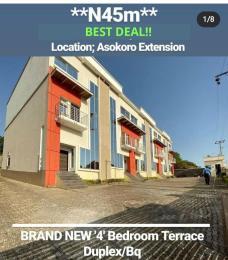 4 bedroom Terraced Duplex House for sale Asokoro Extension  Asokoro Abuja