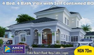 4 bedroom Detached Duplex House for sale - Eleko Ibeju-Lekki Lagos