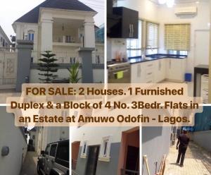 4 bedroom Detached Duplex House for sale Amuwo Odofin Amuwo Odofin Lagos