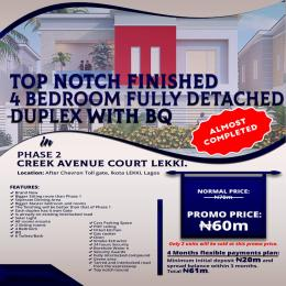 4 bedroom Detached Duplex House for sale After Chevron Toll gate Ikota Lekki Lagos