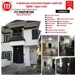 4 bedroom Semi Detached Duplex House for rent Ajah Lekki Gardens estate Ajah Lagos