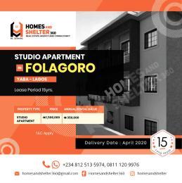 1 bedroom mini flat  Studio Apartment Flat / Apartment for rent Fola Agoro Yaba Lagos