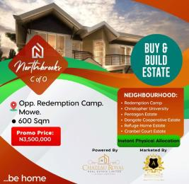 Mixed   Use Land Land for sale Opposite RCCG redemption camp Mowe Arepo Ogun