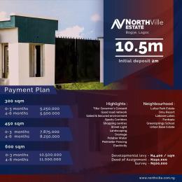 Residential Land Land for sale BOGIJE Eluju Ibeju-Lekki Lagos