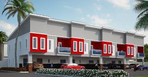 Terraced Duplex House for sale Phase 2 of Creek Avenue Court Ikota, Lekki.  Ikota Lekki Lagos