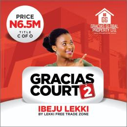 Residential Land Land for rent FREE TRADE ZONE Free Trade Zone Ibeju-Lekki Lagos