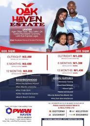 Residential Land Land for sale Behind Pan Atlantic University  Ibeju-Lekki Lagos