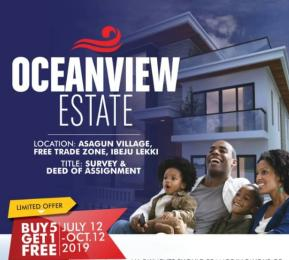 Mixed   Use Land Land for sale Asagun village  Free Trade Zone Ibeju-Lekki Lagos
