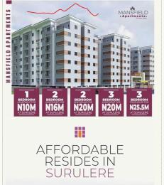 2 bedroom Penthouse Flat / Apartment for sale Behind the National stadium  Alaka/Iponri Surulere Lagos