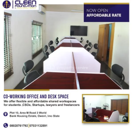 Office Space Commercial Property for rent Fice Space For Rent   Plot 10 Area M Road 3 Zone D World Bank Housing Estate, World Bank Owerri Imo
