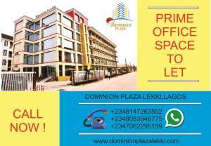 1 bedroom mini flat  Office Space Commercial Property for rent NICHOLE BALOGUN STREET Igbo-efon Lekki Lagos