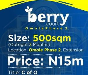 Residential Land Land for sale . Omole phase 2 Ogba Lagos