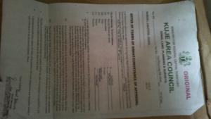 Residential Land Land for sale Kuchiyako iv Layout, Kuje (Plot 5789) Kuje Abuja