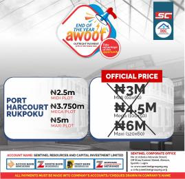 Residential Land Land for sale Rupkpokwu Port Harcourt Rivers