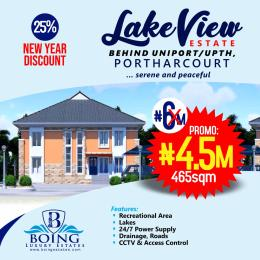 Serviced Residential Land Land for sale Lake view estate Behind uniport / UPTH Port Harcourt Rivers