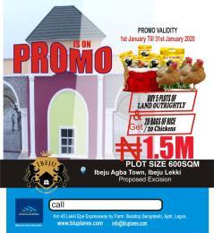 Residential Land Land for sale New Lagos  Eleko Ibeju-Lekki Lagos