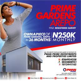 Residential Land Land for sale Mercy avenue Arepo Arepo Ogun