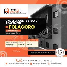 1 bedroom mini flat  Blocks of Flats House for rent Fola Agoro Yaba Lagos