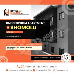 1 bedroom mini flat  Blocks of Flats House for rent Shomolu Lagos