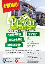 4 bedroom Mixed   Use Land Land for sale origarigan Eleko Ibeju-Lekki Lagos