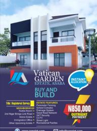 Residential Land Land for sale Ibusa behind International Airport Asab  Asaba Delta