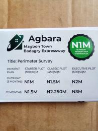 Mixed   Use Land Land for sale Agbara Magbon Town Badagry expressway  Magbon Badagry Lagos