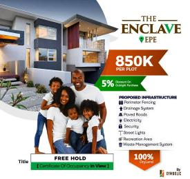 Residential Land Land for sale The Enclave Epe Road Epe Lagos