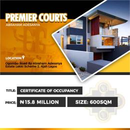 Residential Land Land for sale Premier Courts Ogombo Ajah Lagos