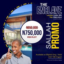Residential Land Land for sale The Enclave Epe Lagos