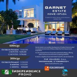 Residential Land Land for sale Mowe Ofada Berger Ojodu Lagos