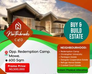 Serviced Residential Land Land for sale Opposite The RCCG Redemption Camp Mowe Obafemi Owode Ogun