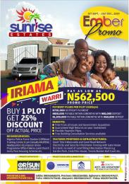 Residential Land Land for sale Irrama, warri  Warri Delta
