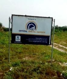 Residential Land Land for sale Crystal Spring Estate Eleko Ibeju-Lekki Lagos