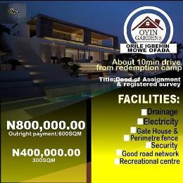Residential Land Land for sale Mowe - Ofada Arepo Ogun