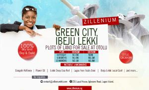 Residential Land Land for sale 7 minutes from deep sea port Free Trade Zone Ibeju-Lekki Lagos