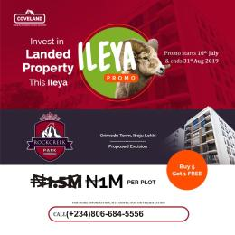 Serviced Residential Land Land for sale Orimedu Town Ibeju-Lekki Lagos