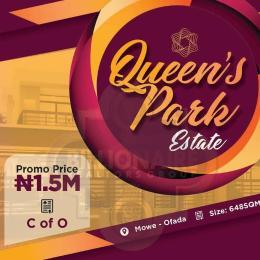 Residential Land Land for sale Mowe ofada along sagamu interchange Sagamu Sagamu Ogun