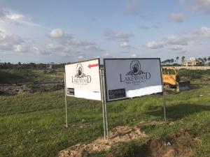 Land for sale LakeWood Estate is located at Oshoroko Ibeju Lekki Alone Lekki Free Trade Akodo Ise Ibeju-Lekki Lagos - 0