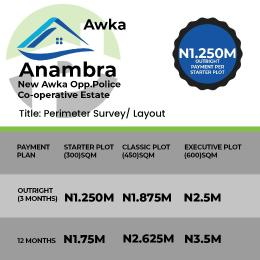 Residential Land Land for sale New Awka, opposite police cooperative estate  Awka North Anambra