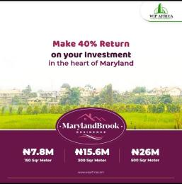 Residential Land Land for sale Maryland Brooks Residence, Mende-Maryland Mende Maryland Lagos