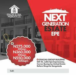 Residential Land Land for sale Gracias Next Generation Estate Epe Lagos