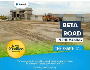 Serviced Residential Land Land for sale Abraham Adesanya, Lekki Phase 2, Ogombo Abraham adesanya estate Ajah Lagos