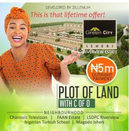 Residential Land Land for sale GREEN CITY: River view Estate behind Turkish International School Isheri North Ojodu Lagos
