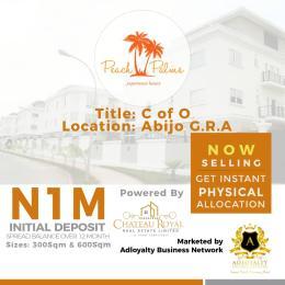 Residential Land Land for sale Abijo, GRA,Ajah ,Lagos State  Abijo Ajah Lagos