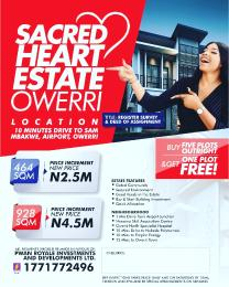 Mixed   Use Land Land for sale Sacred heart estate owerri umuoma ulakwo in owerri north LGA  Owerri Imo