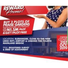 Mixed   Use Land Land for sale Eleranigbe Ibeju-Lekki Lagos